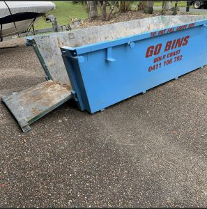 gold coast skip bins with door